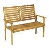 Royal Craft 2-Sitzer Gartenbank Napoli aus Holz