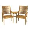 Royal Craft Napoli Companion 2 Seater Acacia Love Seat