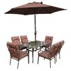 Royal Craft Amalfi 6 Seater Dining Set with Cushions