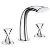 Ultra Faucets Twist Two Handle Deck Mount Roman Tub Faucet