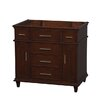 Wyndham Collection Berkeley Single Vanity Base