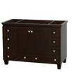 "Wyndham Collection Acclaim 48"" Single Bathroom Vanity Base"