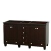 "Wyndham Collection Acclaim 60"" Double Bathroom Vanity Base"