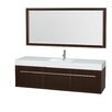 "Wyndham Collection Axa 72"" Single Bathroom Vanity"