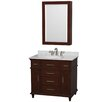 "Wyndham Collection Berkeley 36"" Single Bathroom Vanity"