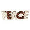 Firefly Home Collection Mosaic Peace Wall Décor