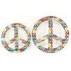 Firefly Home Collection 2 Piece Peace Wall Decor