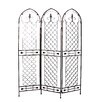 "Firefly Home Collection 71.25"" x 48.5"" Modern 3 Panel Room Divider"