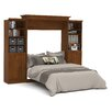 Bestar Versatile Queen Storage Wall Bed