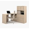 Bestar I3 1 Piece L-Shaped Desk Office Suite