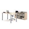 Bestar I3 2 Piece U-Shaped Desk Office Suite