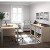 Bestar I3 2 Piece Standard Desk Office Suite