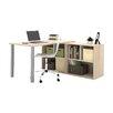 Bestar I3 Writing Desk with Storage Unit