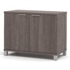 Bestar Pro-Linea 2 Door Storage Cabinet