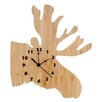 Trend Lab Northwood's Wall Clock Moose