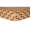 Trend Lab Northwoods Print Fitted Crib Sheet