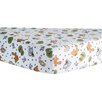 Trend Lab Forest Animal Print Fitted Crib Sheet
