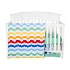 Trend Lab Happy Chevron 3 Piece Crib Bedding Set