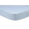 Trend Lab Sky Chevron Fitted Crib Sheet