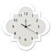 """Trend Lab Ombre Gray 11"""" Quatrefoil Wall Clock"""
