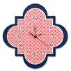 """Trend Lab Quatrefoil 11"""" Wall Clock"""