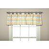 """Trend Lab Buttercup Zigzag 56"""" Curtain Valance"""