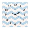 "Trend Lab Blue Sky 11"" Chevron Wall Clock"