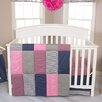 Trend Lab Perfectly Pretty 3 Piece Crib Bedding Set
