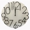 "Creative Motion 12"" Raised Number Wall Clock"