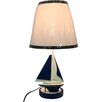 """Creative Motion 17"""" H Table Lamp with Empire Shade"""