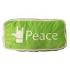 Creative Motion Peace Lumbar Pillow