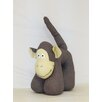 Creative Motion Monkey Plush Animal Toddler Bedding Set
