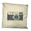 Creative Motion Camera Throw Pillow