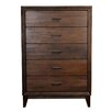 Orient Express Furniture Traditions Ashton 5 Drawer Chest