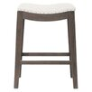 "Orient Express Furniture Essentials 27"" Bar Stool with Cushion"