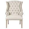 Orient Express Furniture Villa Quinn Tufted Arm Chair
