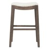 "Orient Express Furniture Essentials 30"" Bar Stool with Cushion"