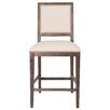 """Orient Express Furniture Traditions Dexter 26"""" Bar Stool with Cushion (Set of 2)"""