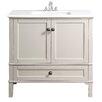 """Simpli Home Chelsea 36"""" Bathroom Vanity Chest & Sink Set"""