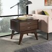 Simpli Home Draper Chairside Table