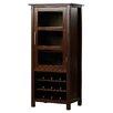 Simpli Home Avalon Bar Cabinet with Wine Storage