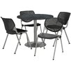 KFI Seating Round Cafeteria Table and Chair Set