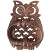 Fallen Fruits Owl Door Knocker Wall Decor