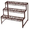 Fallen Fruits Cast Iron Rectangular Etagere