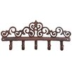 Fallen Fruits Esschert's Garden Cast Iron Hook Wall Decor