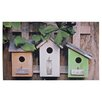 Fallen Fruits Bird Houses Printed Doormat