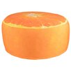 Fallen Fruits Orange Pouffe