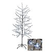 LB International Enchanted Garden 6' Cherry Blossom Flower Christmas Tree with 280 LED Pure White Lights