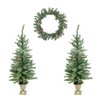LB International Berry Pine Artificial Christmas Trees and Wreath