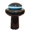 Resin Mushroom Outdoor Garden Water Fountain with LED Light - LB International Indoor and Outdoor Fountains